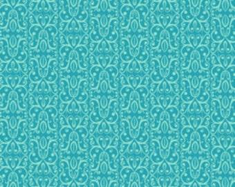 Valori Wells Karavan Savannah in Peacock Cotton Quilt Fabric 1 yard
