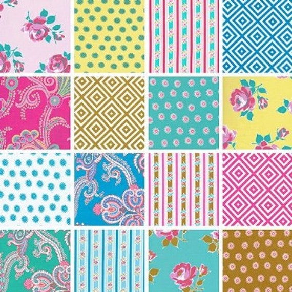 Jennifer Paginelli Poodle Cotton Fabric 23 Piece 2.5 inch Strips Jelly Roll--Last one
