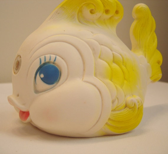 1958 Edward Mobley Tropical Fish Squeak Toy