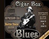 1920's & 30's Cigar Box Guitar CD Delta Blues primitive folk Americana recorded on vintage tube amps