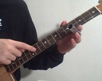 How to Play Cigar Box Guitar -3 string Lessons Homemade DVD Learn Retro Americana sign slide guitars with Rustic Tone