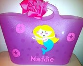 Children's Personalized Pool or Beach Tote