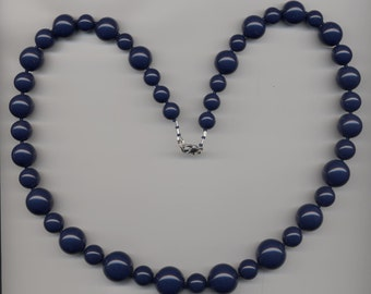 Big chunky blue beads  Necklace