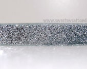 Sweet-Sweat-Bands..... Silver Sparkle (silver with sparkles non-slip headband).