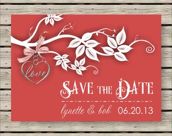 Love Save the Date 5x7 Announcement