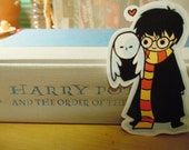 Harry and Hedwig sticker (large)