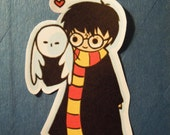 Harry and Hedwig sticker (small)