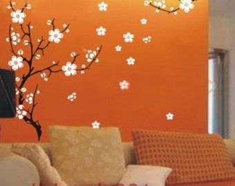 Cherry Blossom- Removable Vinyl Decals, wall stickers, Graphic, wall decor