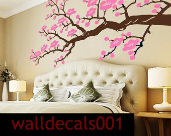Vinyl Wall decals wall stickers - Cherry Blossom