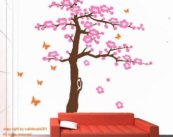 Wall Decals - Cherry Blossom Tree 80""