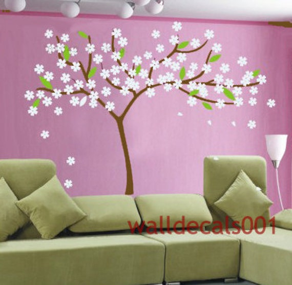 cherry blossom Wall Decals Wall Stickers,decal,sticker,cherry blossom,tree- Cherry blossom tree