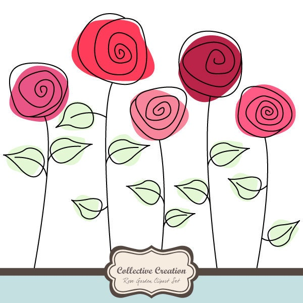 Clipart Pictures Of Roses