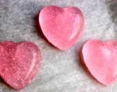 Guest Soaps - Valentine's Day Hearts - Mini Guest Soaps - Free Shipping Domestic