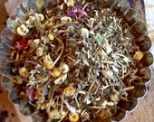 "Herbal Green Tea Bath Soak - Bath Tea - ""Sweet Dreams"" - Soak and Soothe Tea - Free Shipping Domestic"