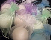 """Natural Bath Exfoliant - Limited Edition - Bath Bombs - """"Fizzzzzers"""" - Free Shipping Domestic"""
