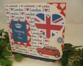 Britannia 'I love London' thinking of you card