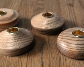 Red Oak Candleholder (s) 4 Available