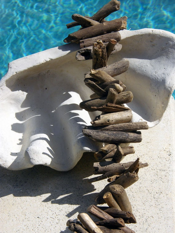 Driftwood Garland for Outdoor Summer Home Decor or Christmas Holidays