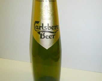 Giant Carlsberg Beer Bottle Danish Brewery Rare Bar Breweriana Advertising Prop Collectable Display