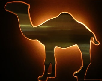 Camel Cigarettes Joe Camel Bar Beast Wall Figurative Die Cut Light Sconce Sign Display Tobacciana R.J. Reynolds Tobacco Advertising