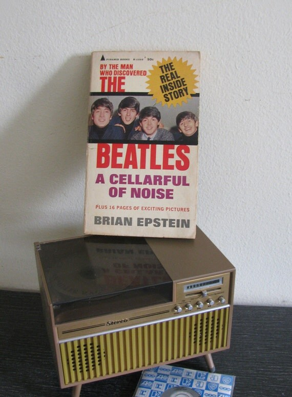 RESERVED for HANNA T The Beatles-A Cellarful of Noise by Brian Epstein