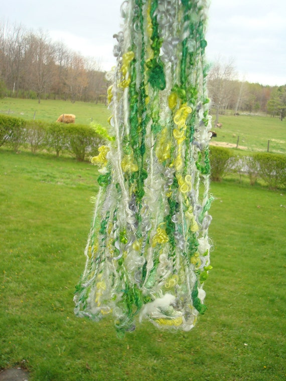 Tailspun/Lockspun Wensleydale and Teeswater Yarns Daffodil