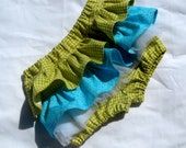 Ruffle Bloomers-Any print from my shop or Kona Cotton Solid you would like-