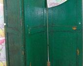 Vintage Wooden Screen / Room Divider