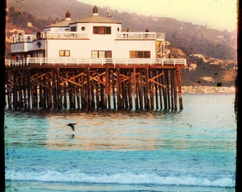 Malibu Pier Photography, Malibu Beach Photography, Retro Surf Photography, Ocean Photography