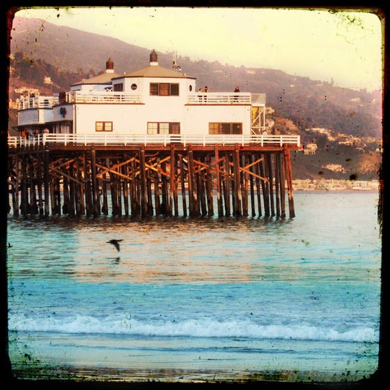 Items Similar To Malibu Pier Photography, Malibu Beach