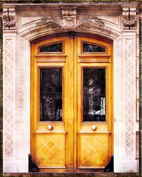 Paris Door Photography, Paris Photography, Pink Paris Art Print, Old Door Paris, Paris Wall Art Decor