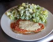 One Organic Vegan Schmicken Cutlet for Elizabeth