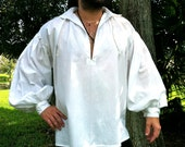 PIRATE / Colonial 18th century workshirt