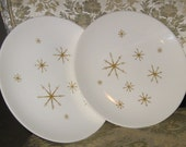 Star Glow Dinner Plates by Royal China (One set of 2)