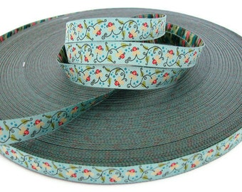 Miss Water Lily Woven Ribbon - 1 Yard