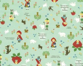 Japanese Cotton Fabric - Fairy Tales - Half Yard