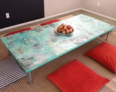 Custom Low Rise Hollow Core Table  - Made to Order
