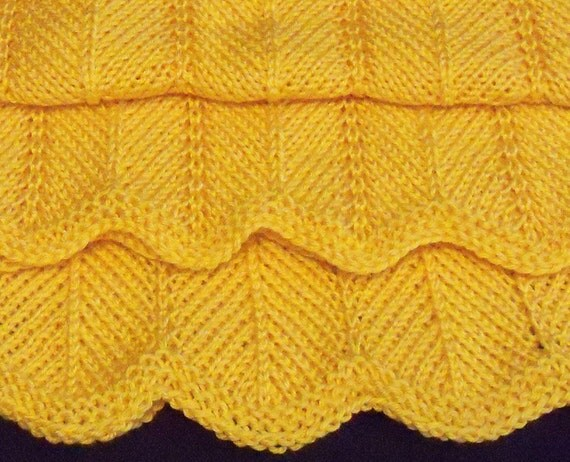 Chevron Knitting Pattern : KNITTING PATTERN Joeys Chevron Blanket Pattern by ...