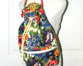 Reserved for melissa Vintage Floral Backback