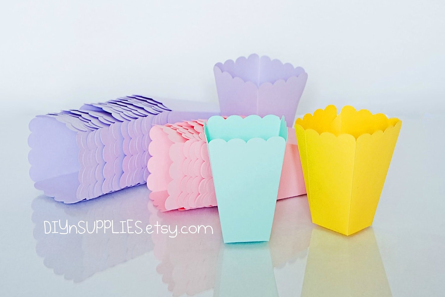 popcorn boxes set of 20 baby shower party favors or