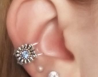 Light Sapphire Ear Cuff