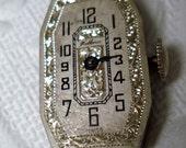 Watch Movements - Steampunk Supplies - Watch Parts Vintage Helbros 17 Jewels (1)
