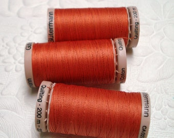 Gutermann Quilting Thread. Cotton Quilting Thread. Light Dusk. One spool (1). SALE