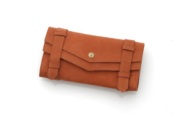 SALE 68usd INSTEAD 155usd Women wallet- Leather Purse for her