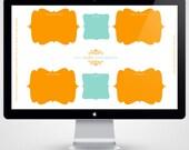 Desktop Organizer  - Fully Customizable PSD File
