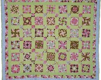 Floral Four Patch