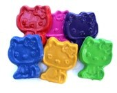Sweet Kitty Scribblers -Set of (6) 2nd Chance Crayons