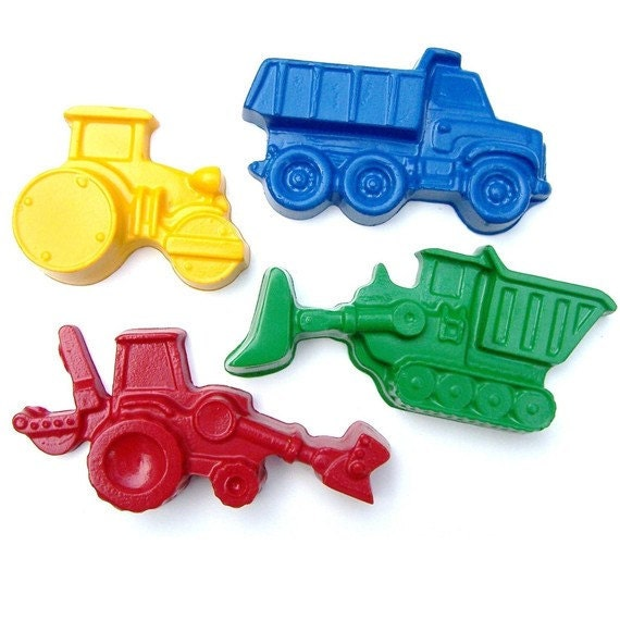 Chunky Construction Crayons -Party Favor Set (10 Sets of 2)