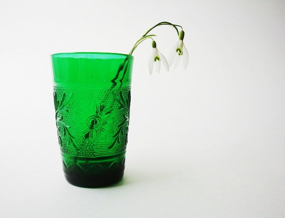 Emerald City Juice Glass by Anchor Hocking