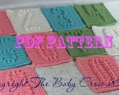 INSTANT DOWNLOAD - Crochet Pattern  - Crochet Numbers and Symbols - 10 Numbers, 10 Symbols - Pattern
